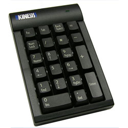 Kinesis Low-Force Keypad Number Pad