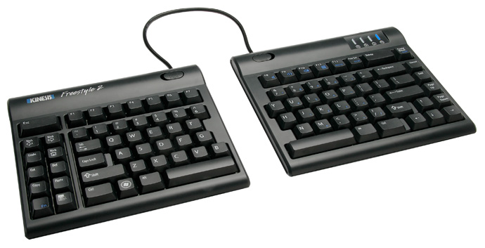Kinesis Freestyle Solo v2 Convertible Keyboard Style 1