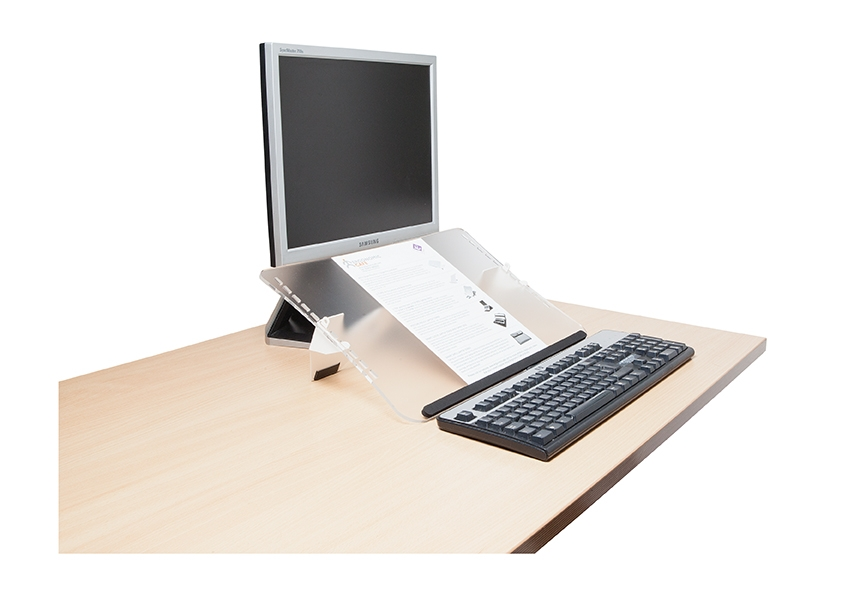 Document and Copy Holders - Healthy Workstations: www.healthyworkstations.com/ProductByGroup.asp?PrGrp=130