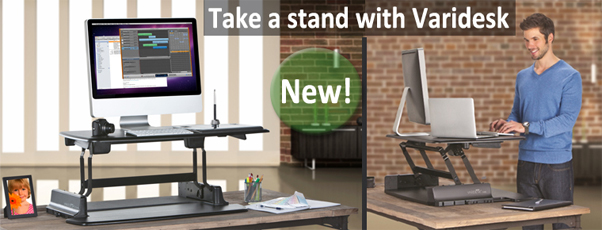 Take a stand with Varidesk