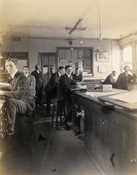 Standing desks in History