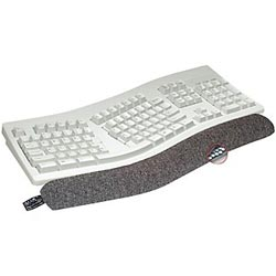 Ergo Beads Therapeutic Keyboard Wrist Support Black