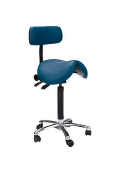 Jumper Stool LOW/Backrest sit stand
