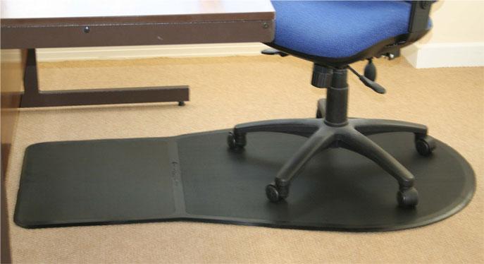 Keyhole Rubber Floor Mat
