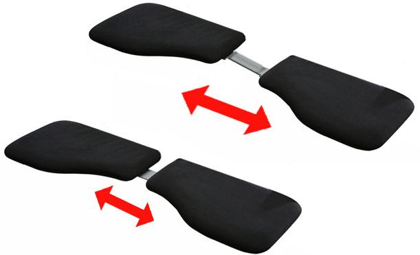 adjustable Handy Duo Combi Arm Support