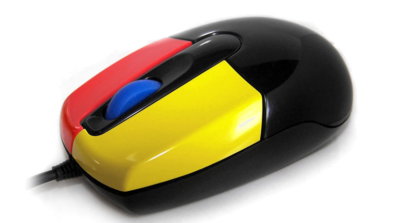 Nanoarmour Junior Mouse with Easy Learning Buttons