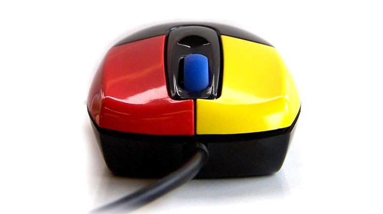 Nanoamour Mouse - Easy Learning Buttons