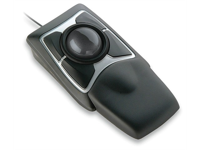 Optical Trackball with wrist rest