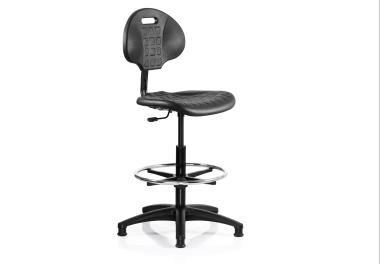 DUBLIN Industrial Chair with Footring