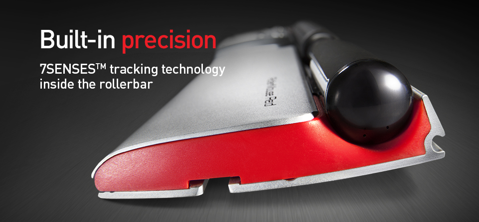 RollerMouse Red - Built-in precision