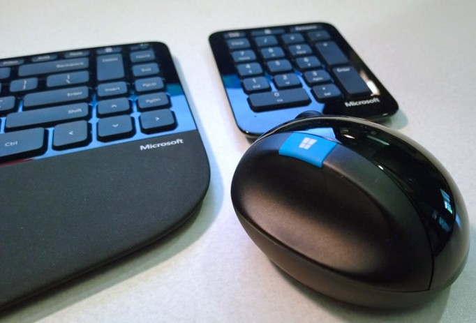 Microsoft Sculpt Ergonomic Desktop Set