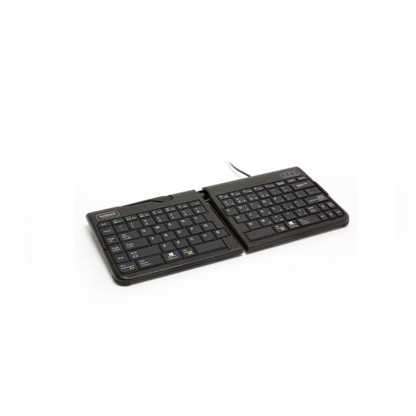 Goldtouch Go!2 Mobile Split mini keyboard