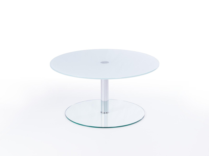 White Glass Top