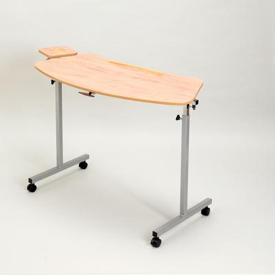 Curved Adjustable Table with Castors