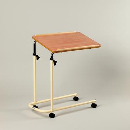 Adj Bed and Chair Table With Castors