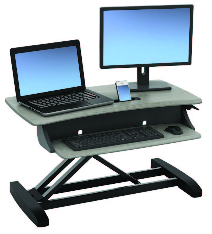 Ergotron WorkFit-Z Grey