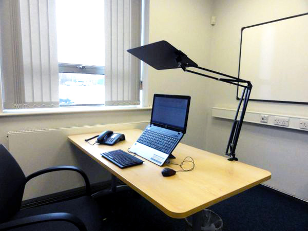 SuperVisor - desk mounted with clamp