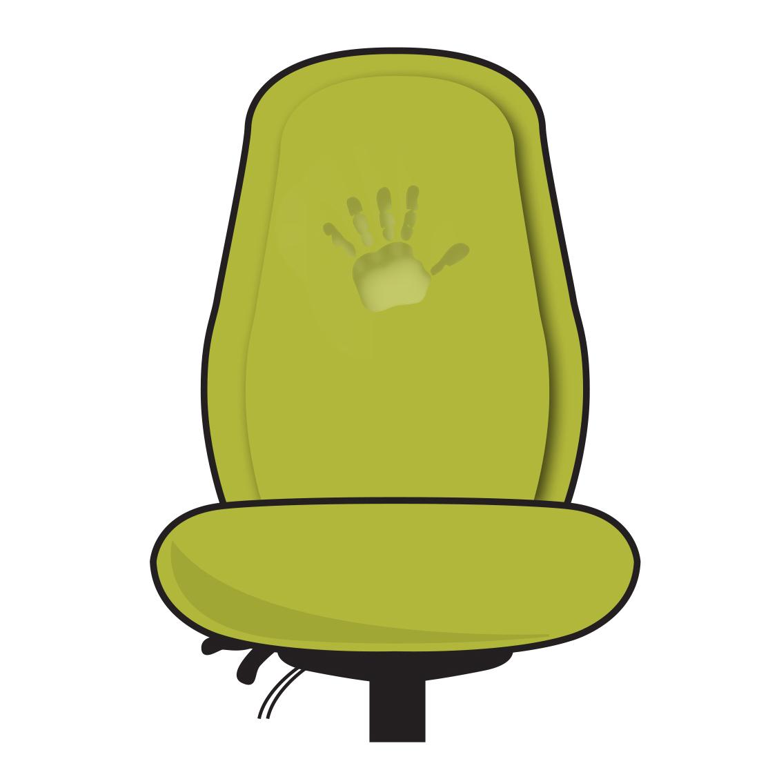Back: Memory-Foam backrest