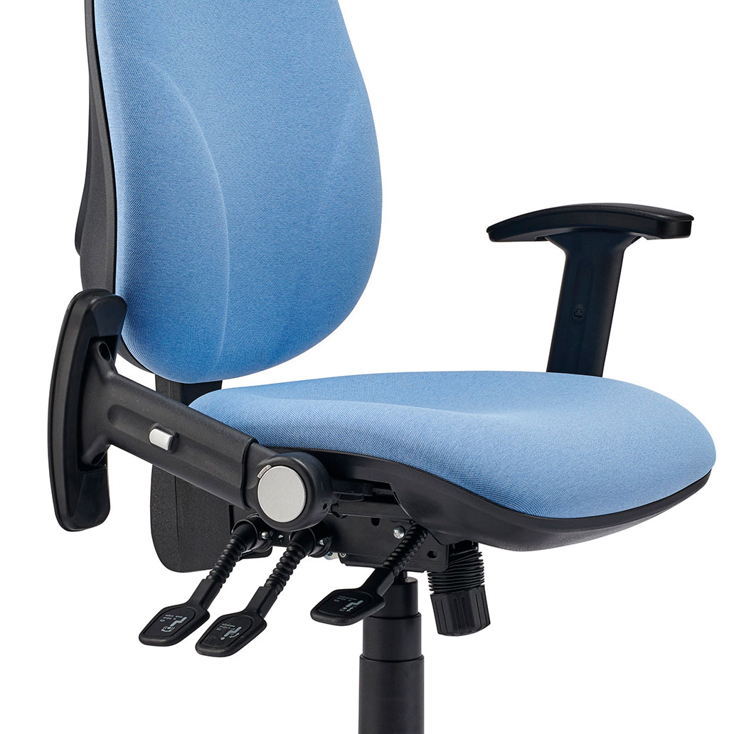 Fold Down, Height Adjustable Arms